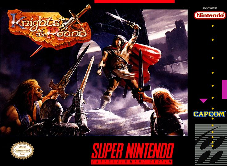 Knights of the Round. Capcom (1994) Super Nintendo | Games Revisited