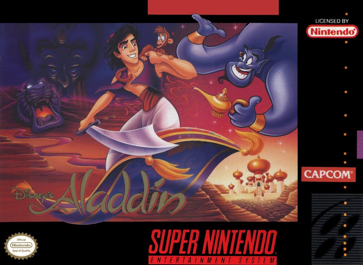 Aladdin. Capcom (1994) Super Nintendo