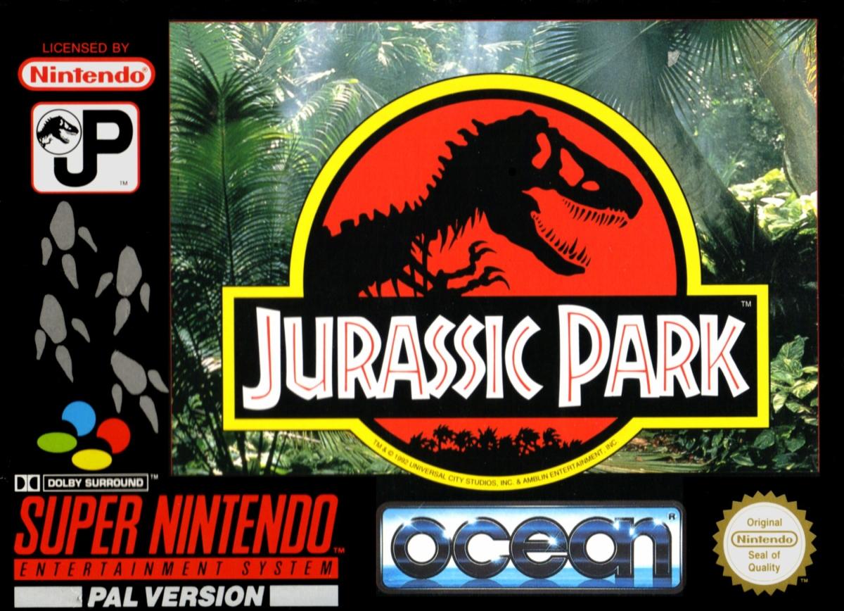 Jurassic Park. Ocean Software (1993) Super Nintendo