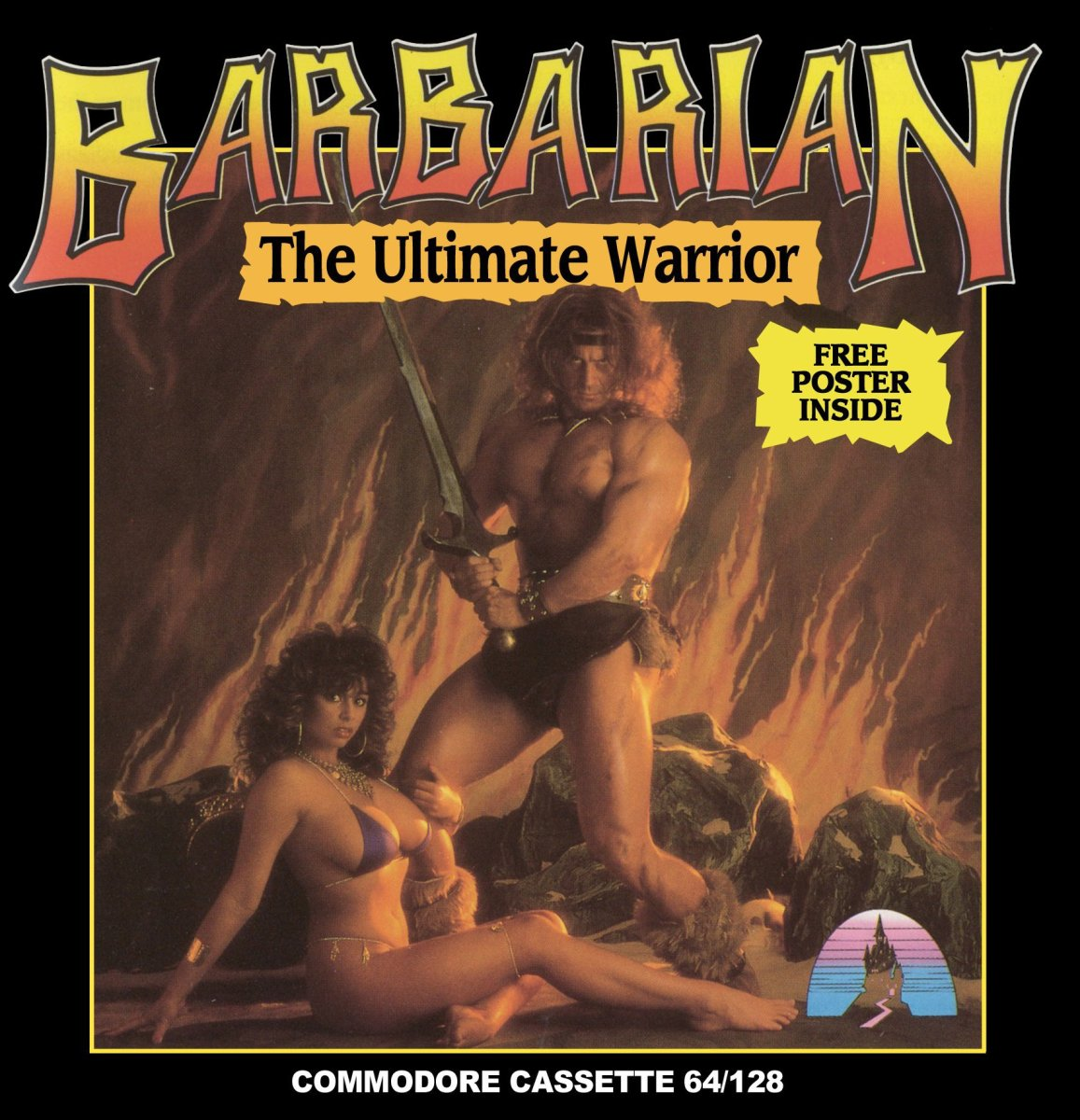 Barbarian: The Ultimate Warrior. Palace Software (1987) Commodore 64