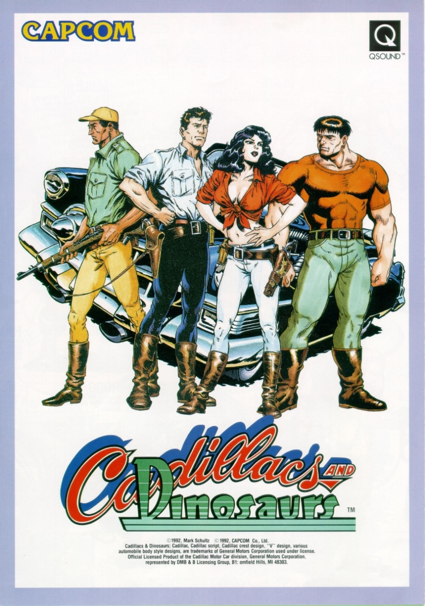 Cadillacs and Dinosaurs. Capcom (1993) Arcade