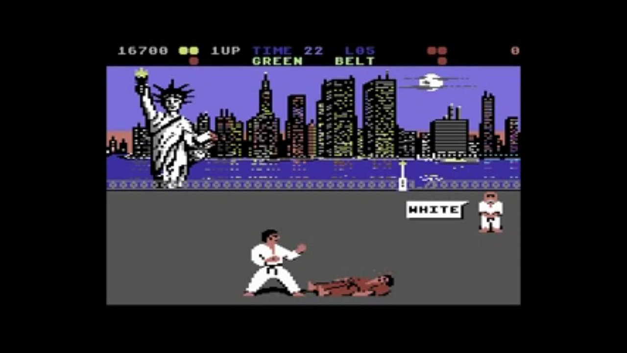 International Karate +  System 3 (1987) Commodore 64 | Games