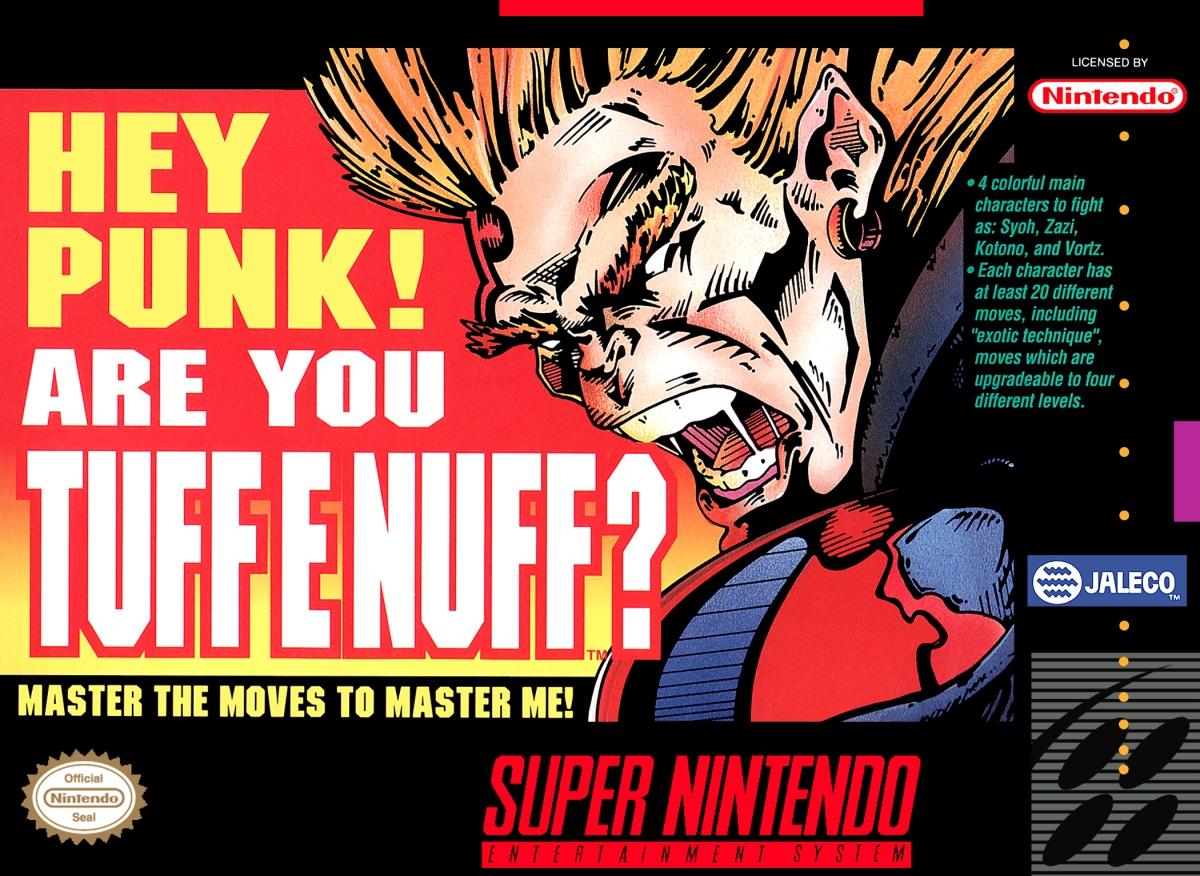 Tuff E Nuff. Jaleco (1993) Super Nintendo