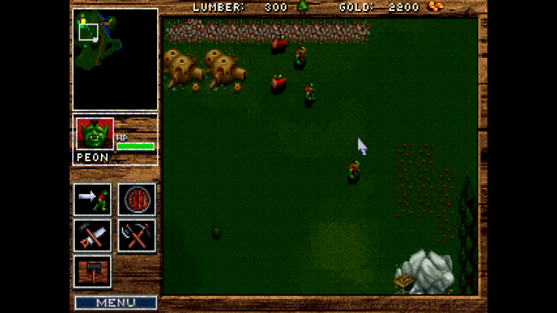 Warcraft Orcs And Humans Blizzard Entertainment 1995 Pc